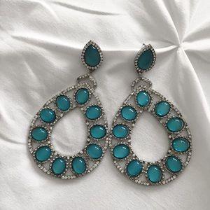 BEBE | Turquoise earrings